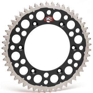 Renthal Twinring Black Rear Sprocket Honda CRF250/450 CR125/250/500