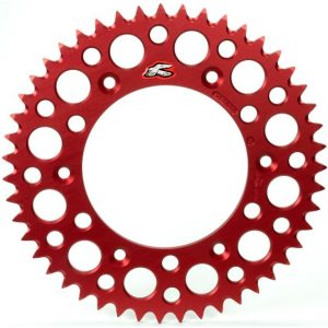 Renthal Red Rear Sprocket Honda CRF250/450 CR125/250/500