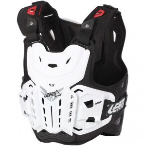 2018 Leatt 4.5 Chest Protector White