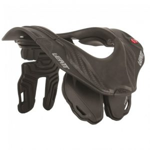 2018 Leatt GPX 5.5 Neck Brace Junior Black/Grey