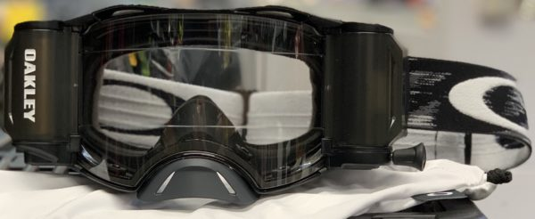 Oakley Airbrake MX Roll-Off Goggle Jet Black Speed - IMG 5095