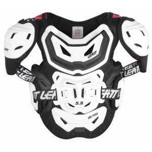 2018 Leatt 5.5 Pro HD Chest Protector White
