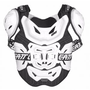 2018 Leatt 5.5 Pro Chest Protector White