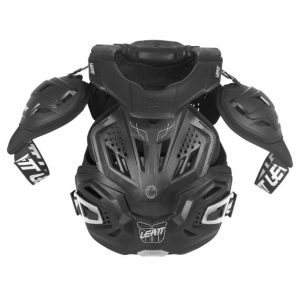 2018 Leatt Fusion 3.0 Adult Neck Brace & Body Protector Black