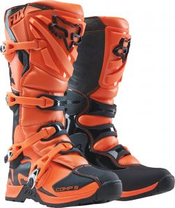 2018 Fox Comp 5 YOUTH Boot Orange