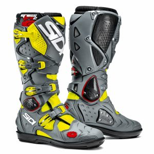 2017 Sidi Crossfire 2 SRS Boot Black/Grey/Fluo