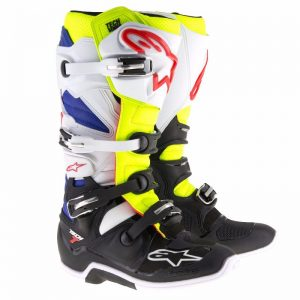 2018 Alpinestars Tech 7 Boot White/Flo/Navy