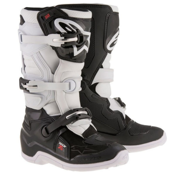Alpinestars tech 7s youth boot black/white - image187602019