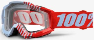 100% Accuri YOUTH Goggle Cupcoy – Clear Lens