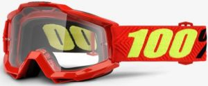 100% Accuri YOUTH Goggle Saarinen – Clear Lens