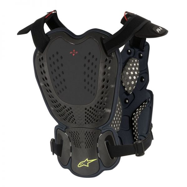 Alpinestars A1 Roost Guard Black/Anthracite - 6700116 104 ba a 1 roost guard 1 1