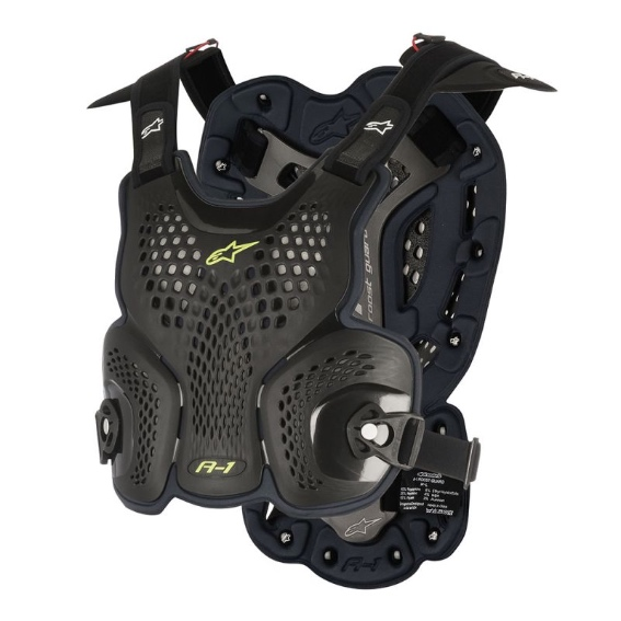 Alpinestars A1 Roost Guard Black/Anthracite - 6700116 104 fr a 1 roost guard 1 1