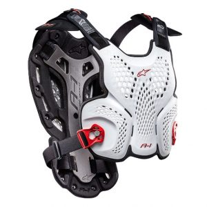 Alpinestars A1 Roost Guard White/Black/Red