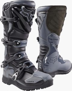 2018 Fox Comp 5 Offroad Enduro Boot Black/Grey