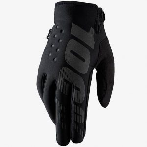 100% YOUTH Brisker Glove Black
