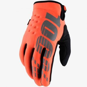 100% Brisker Glove Cal-Trans Orange