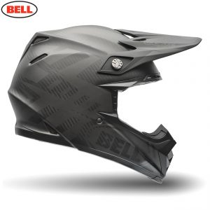 2018 Bell Moto-9 Carbon Flex Helmet Syndrome Matte Black