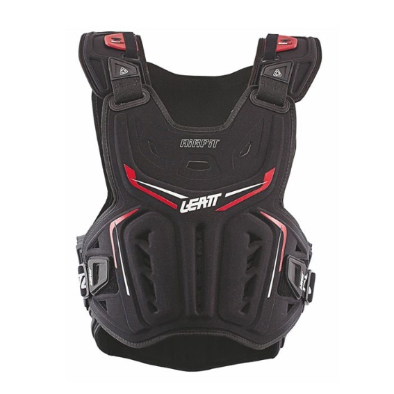 Leatt 3DF Airfit Chest Protector Black - a26