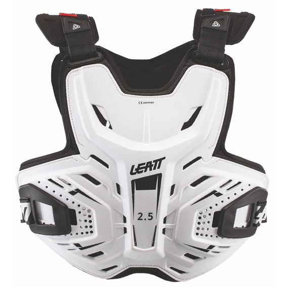 Leatt gpx 2. 5 chest protector white - chest protector 2. 5 white 1