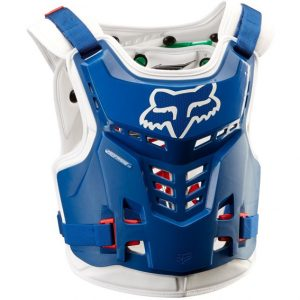 2018 Fox Proframe LC YOUTH Chest Protector Blue/Green