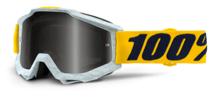 100% Accuri Goggle Athleto – Silver Mirror Lens + Clear Lens