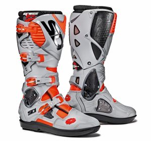 2018 Sidi Crossfire 3 SRS Boots Red Flo/Ash