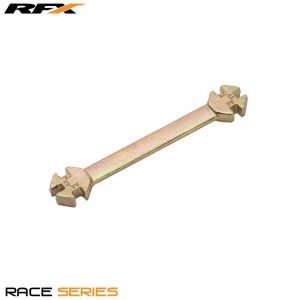 RFX Race Series Spoke Key (Gold) Universal 6 in 1 Type Sizes 5.6mm-7.00mm