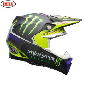 2017 Bell Moto-9 Carbon Flex Monster Pro Circuit Helmet