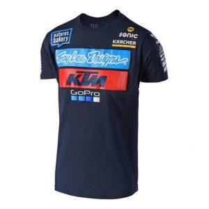 2018 Troy Lee KTM Team T Shirt Navy