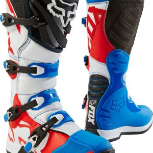 2018 Fox Comp 5 SE Fiend Boot Blue/Red