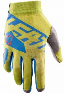 2017 Leatt GPX 2.5 X-Flow Glove Lime/Blue