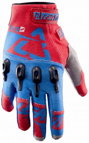 2017 Leatt GPX 3.5 Lite Glove Red/Blue