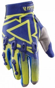 2017 Leatt GPX 4.5 Lite Glove Blue/Lime