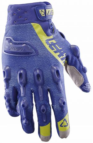 2017 Leatt GPX 5.5 Lite Glove Blue/Lime