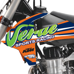 2017 Verde Sports Racing Team Graphics Kit Complete With Custom Backgrounds