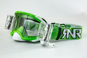 Rip N Roll Platinum WVS 48mm Film Roll Off Goggle Green