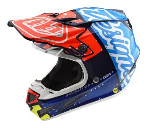 2018 Troy Lee SE4 Composite Factory Helmet Navy