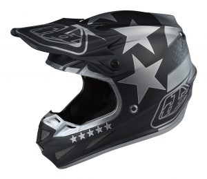 2018 Troy Lee SE4 Composite Freedom Helmet Matte Black