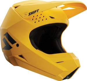 2018 Shift WHIT3 Label Helmet Yellow