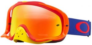 Oakley Crowbar Goggle Flo Blue/Red – Fire Iridium & Clear Lens