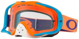Oakley Crowbar Goggle Flo Orange/Blue – Clear Lens