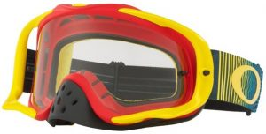 Oakley Crowbar Goggle Shockwave Red/Yellow/Blue – Clear Lens