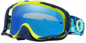 Oakley Crowbar Goggle Thermo Camo Blue/Yellow – Black Ice Iridium & Clear Lens
