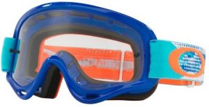 Oakley XS O Frame YOUTH Goggle Treadburn Orange/Blue – Clear Lens