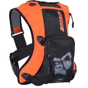 USWE Ranger 3 Hydration Pack with 2L Elite Bladder Black/Orange