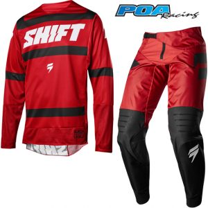 2018 Shift 3LACK Label Strike Combo Dark Red