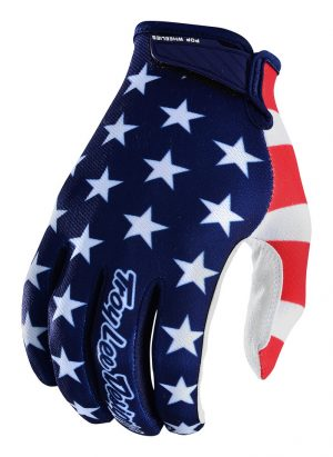 2018 Troy Lee Air Americana Glove Navy/Red