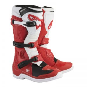 2019 Alpinestars Tech 3 Boots Red/White