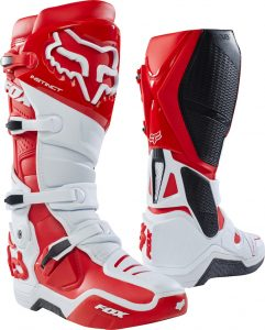 2018 Fox Instinct Boot White/Red