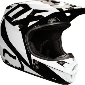 2018 Fox V1 Race Helmet Black